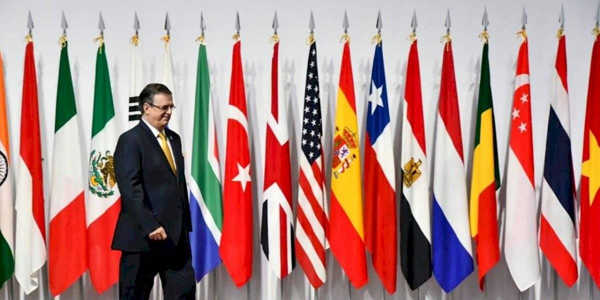 Presenta Ebrard Plan Centroamérica en la cumbre el G-20