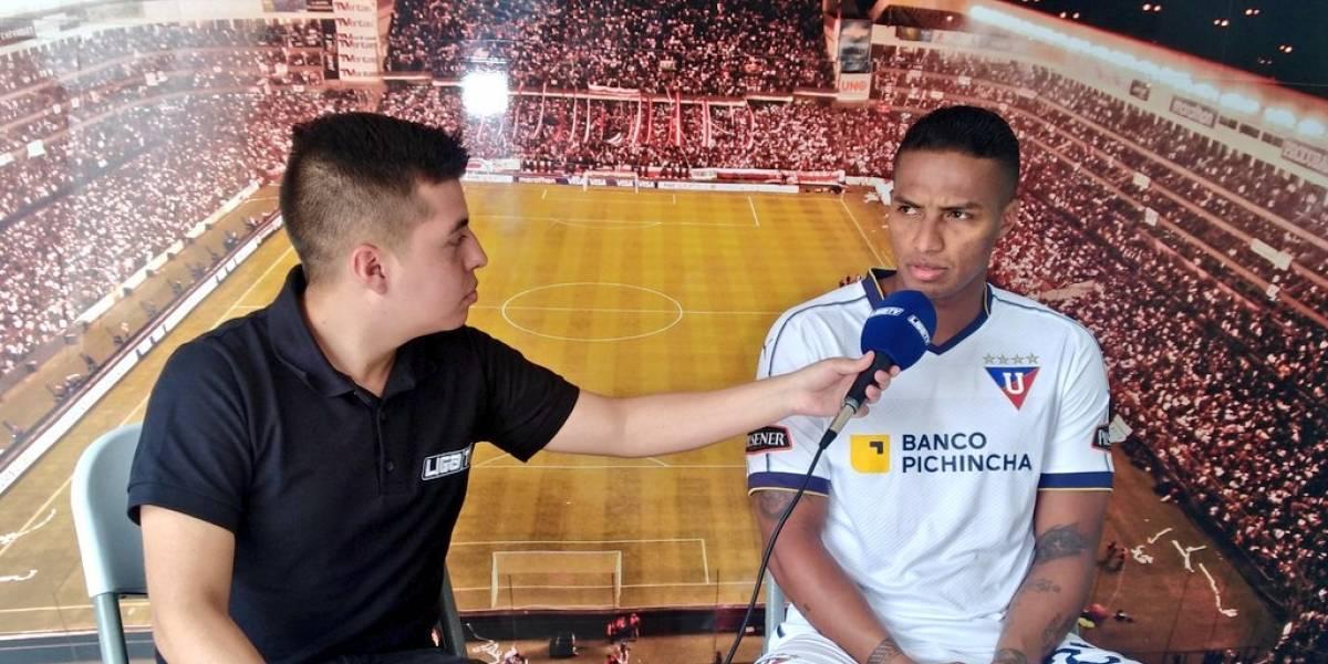El mensaje de Antonio Valencia a los hinchas de Liga de Quito