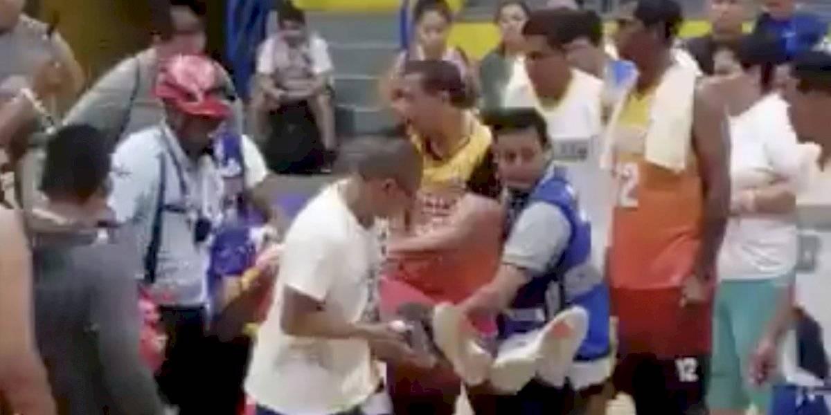 Fallece basquetbolista al lanzar un tiro de tres puntos