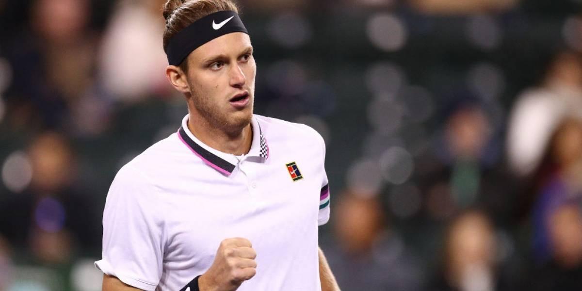 Nicolás Jarry dio el batacazo en torneo de exhibición y venció a Dominic Thiem en la previa a Wimbledon