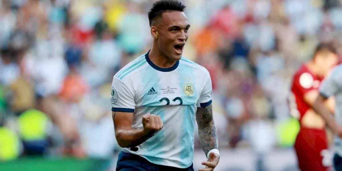 Lautaro Martínez se consolida como el arma de gol en la era de Lionel Scaloni y Argentina se prende en la Copa América