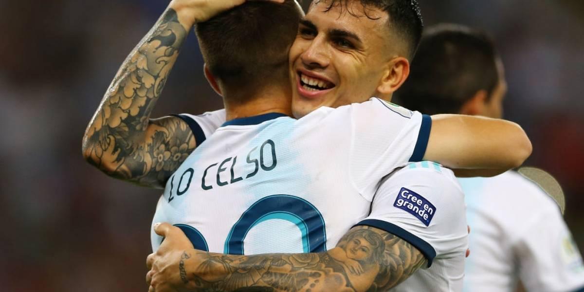 """""""Acá estamos, Brasil"""": La prensa argentina deliró con el paso de la Albiceleste a semis de la Copa América"""