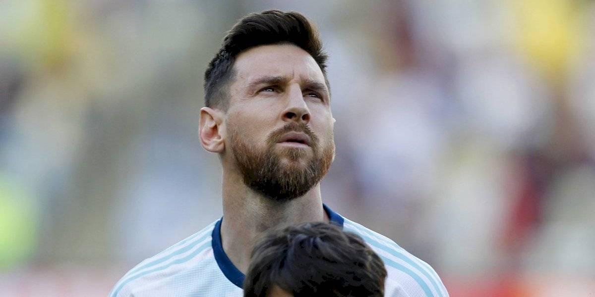 VIDEO: Messi sorprende al cantar himno de Argentina efusivamente