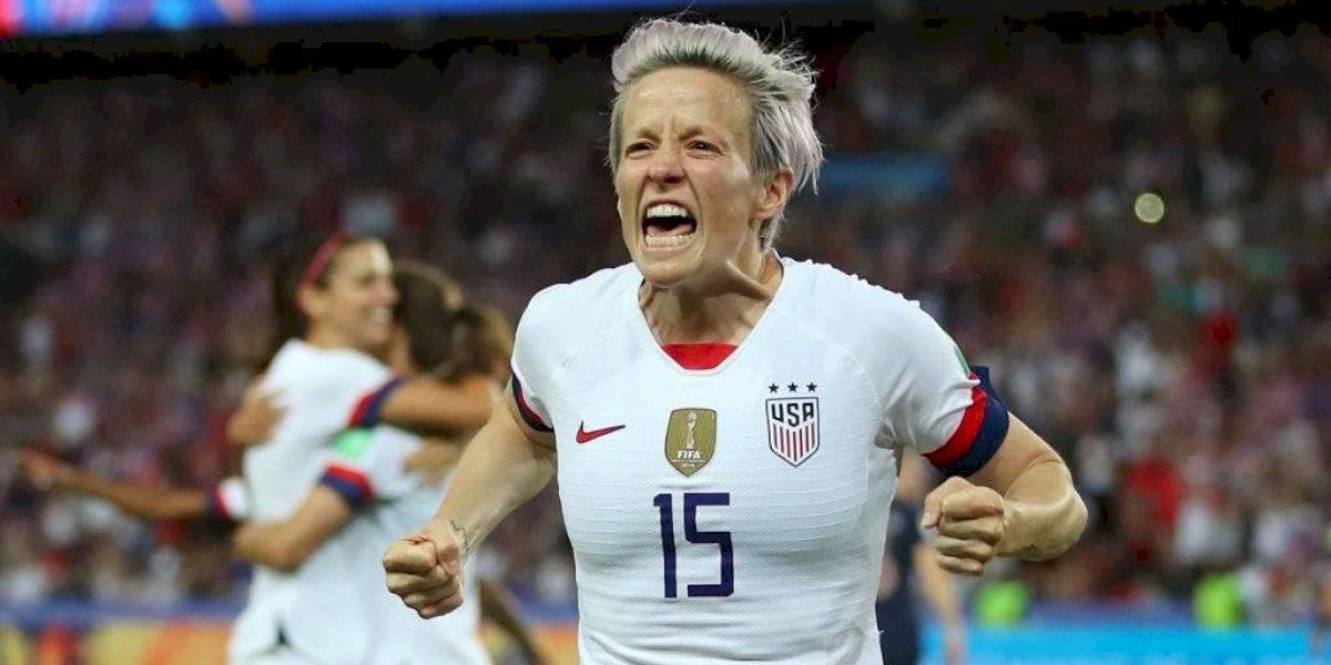"""La """"anti Trump"""" Megan Rapinoe metió a Estados Unidos en semifinales del Mundial femenino de Francia"""
