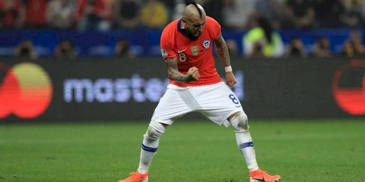 """Vidal saca pecho: """"Llevamos un año y medio trabajando duro, sabíamos que iba a salir el mejor Chile"""""""
