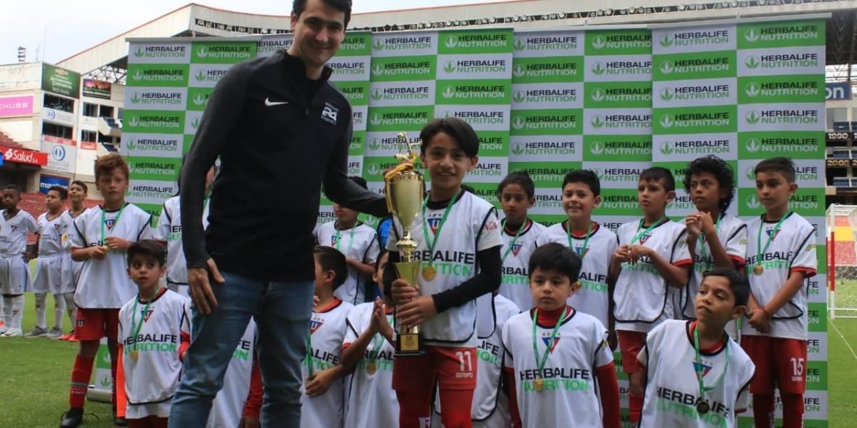 Torneo Herbalife Nutrition - LDU descubre nuevos talentos