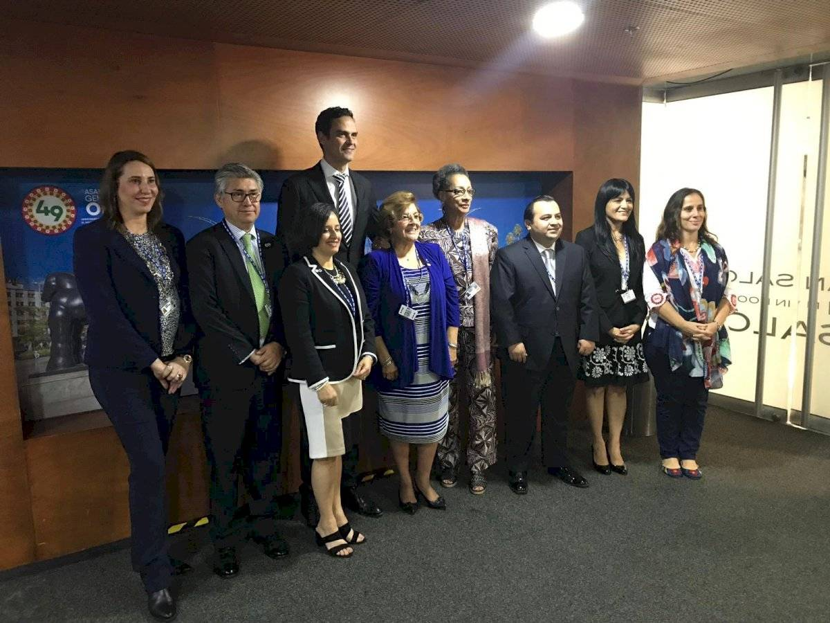 Integrantes de la CIDH. Foto: Paulo Abrão