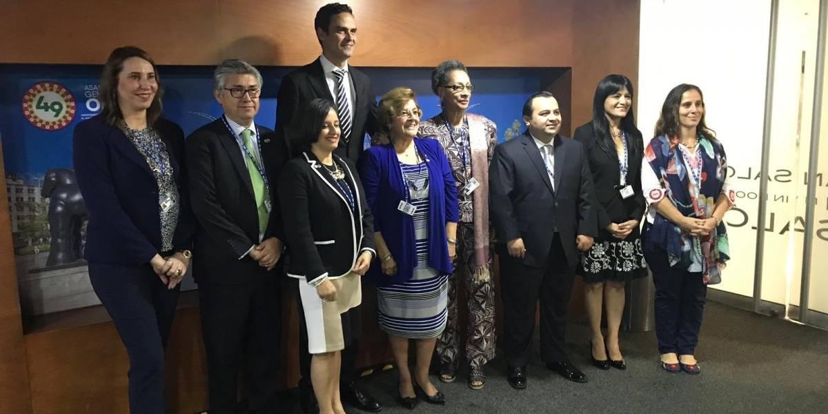 """Ralón agradece los """"votos de confianza"""" al ser elegido para integrar la CIDH"""