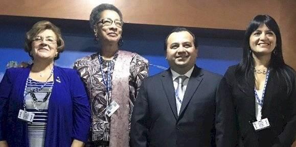 Integrantes de la CIDH. Foto: Peruanos por la igualdad