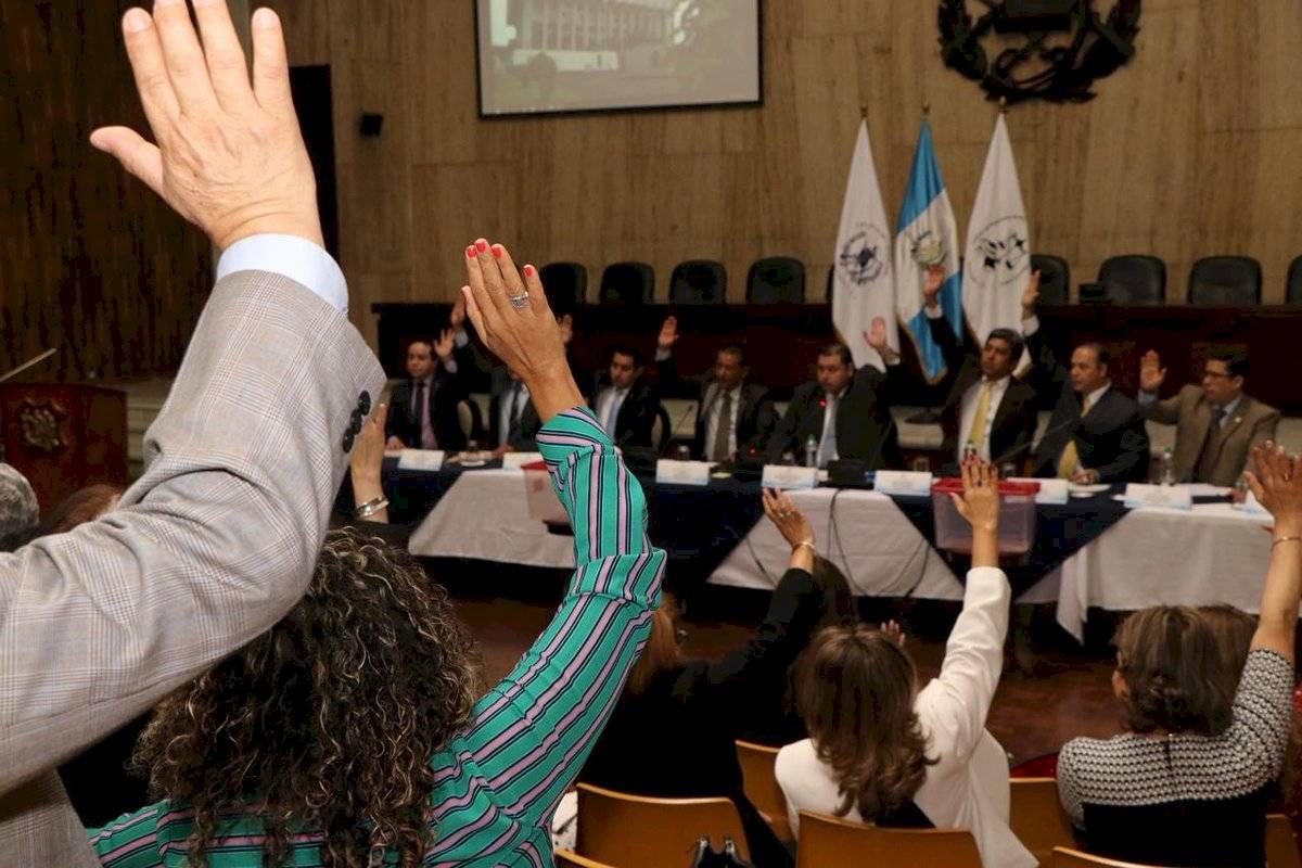 Eligen junta directiva transitoria para el Instituto de Magistrados del OJ. Foto: OJ