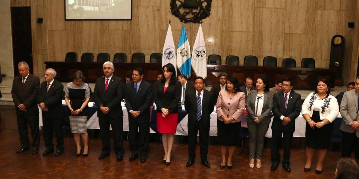 Eligen junta directiva transitoria del Instituto de Magistrados del OJ