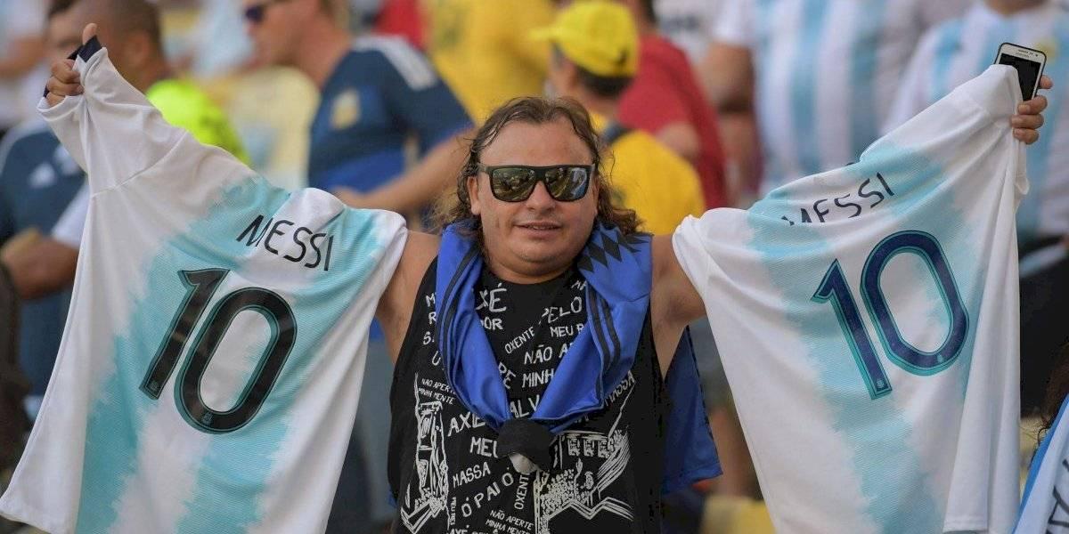 VIDEO. Lionel Messi cantó el himno de Argentina y las redes enloquecen