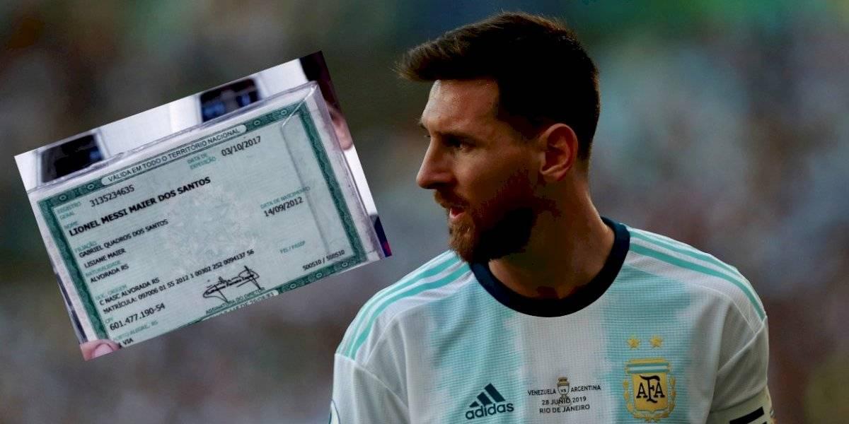 ¡No es broma! Brasil también tiene a su Lionel Messi