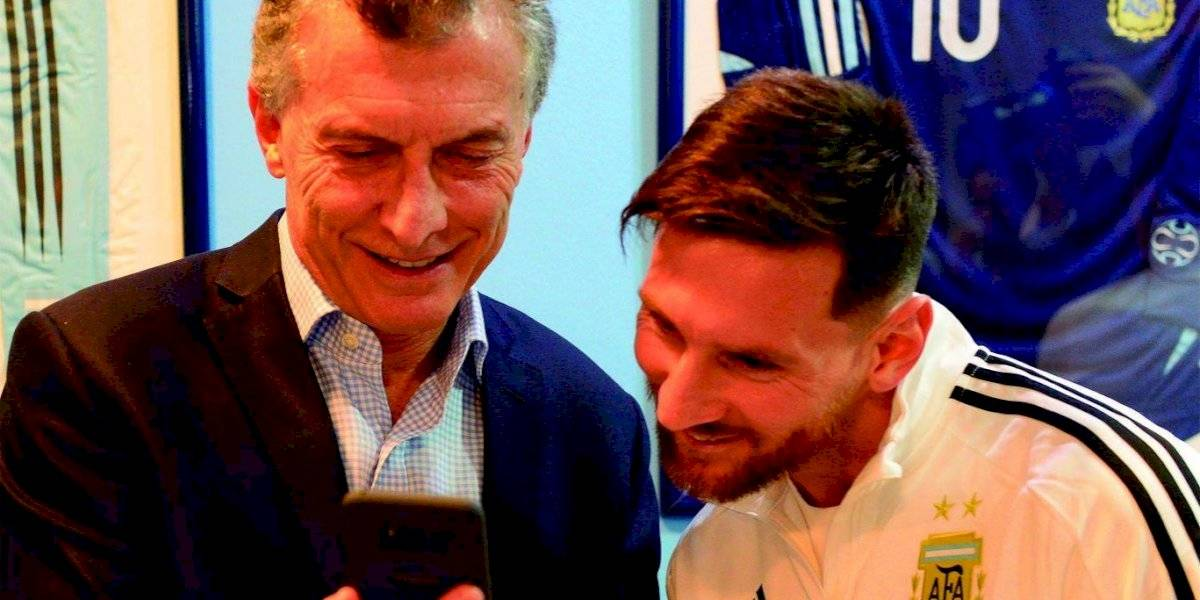 VIDEO. Presidente de Argentina carga contra la selección de Messi