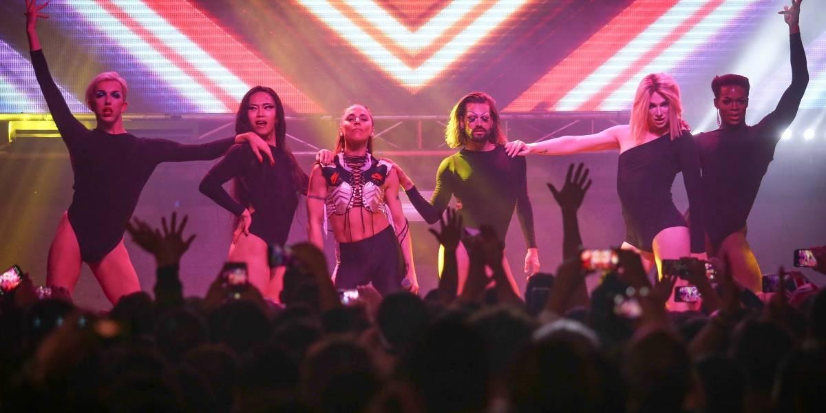 Mel C debutó en Chile con un entretenido pero acotado show