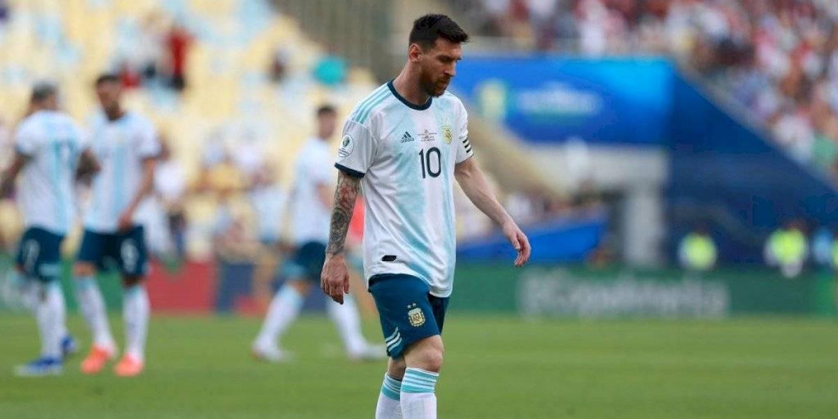 'Es una vergüenza que disputemos la Copa América en estas canchas': Messi