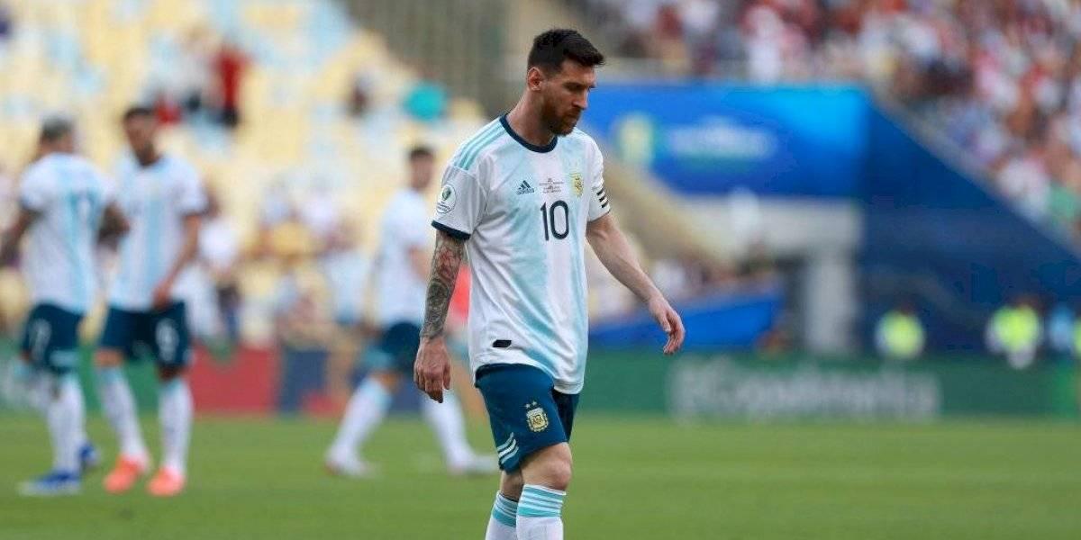 Lionel Messi fuera del XI ideal de Copa América