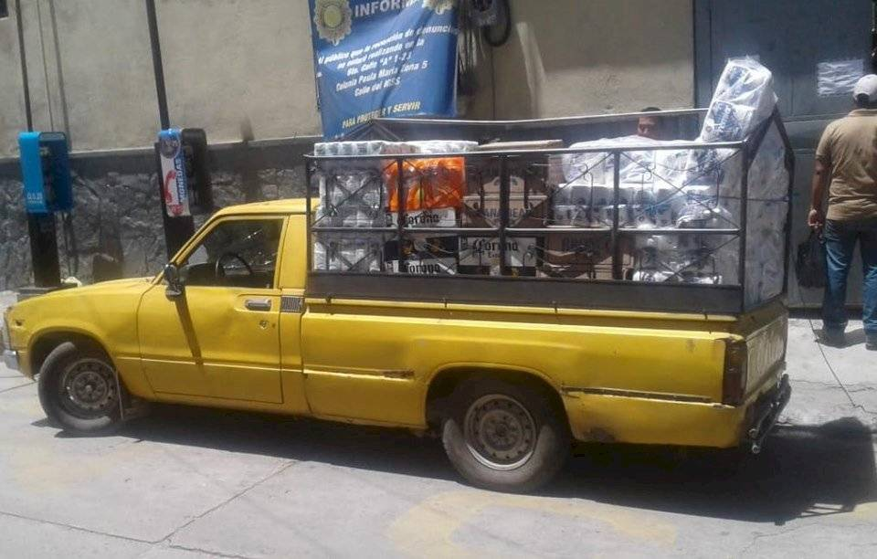 operativo contra el contrabando en Huehuetenango