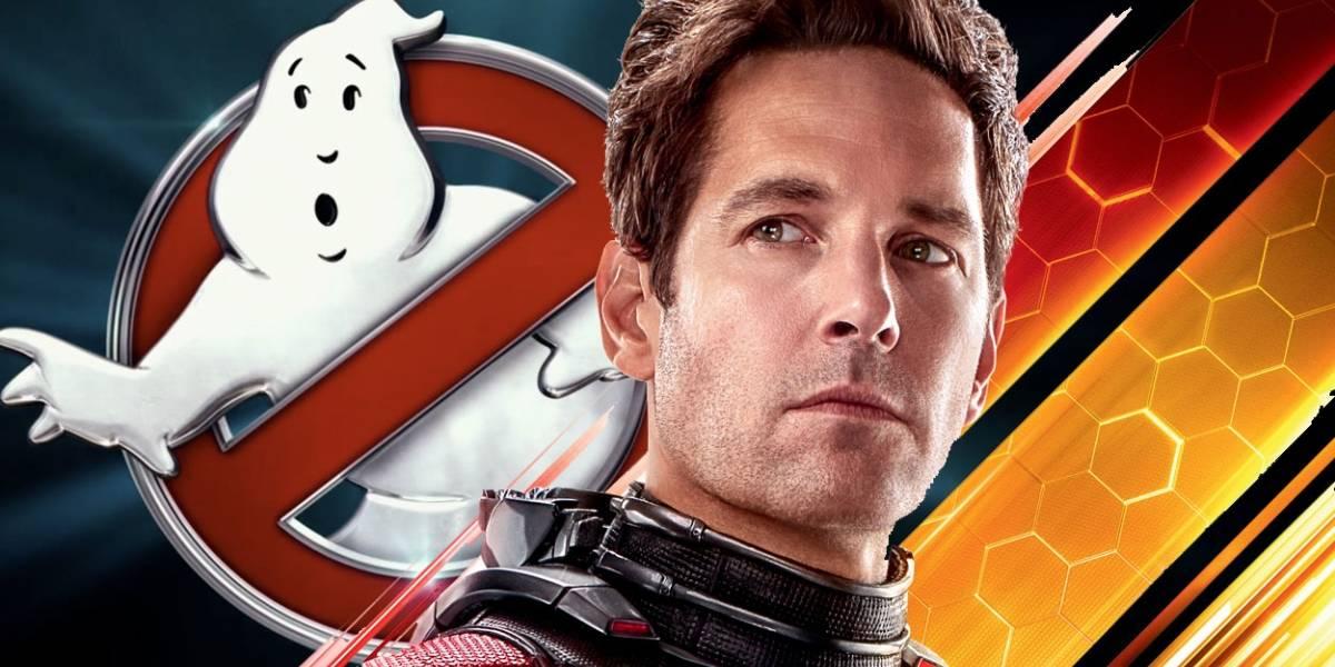Ghostbusters 3 ficha a Ant-Man tal vez como nuevo cazafantasma