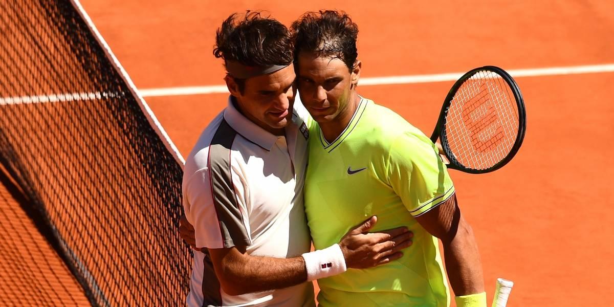 Nadal y Federer se podrían ver las caras en semis de Wimblendon