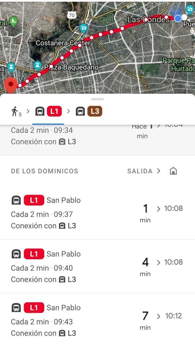 Google Maps añade nueva función que te indicará como van de lleno el transporte de tu ciudad