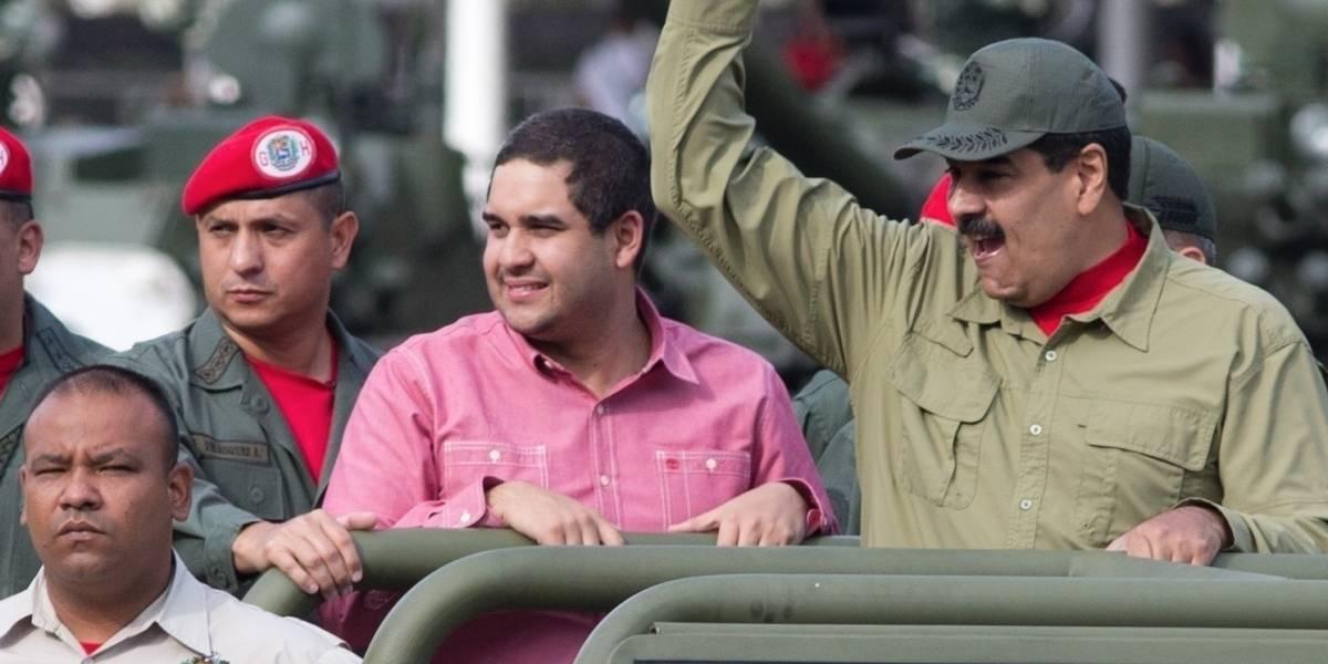 EEUU sanciona a hijo de Maduro para presionar a Venezuela