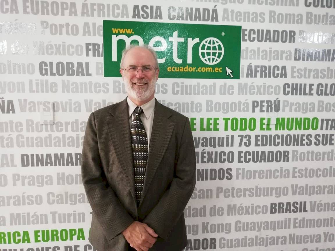 John Preissing , representante de la FAO Ecuador