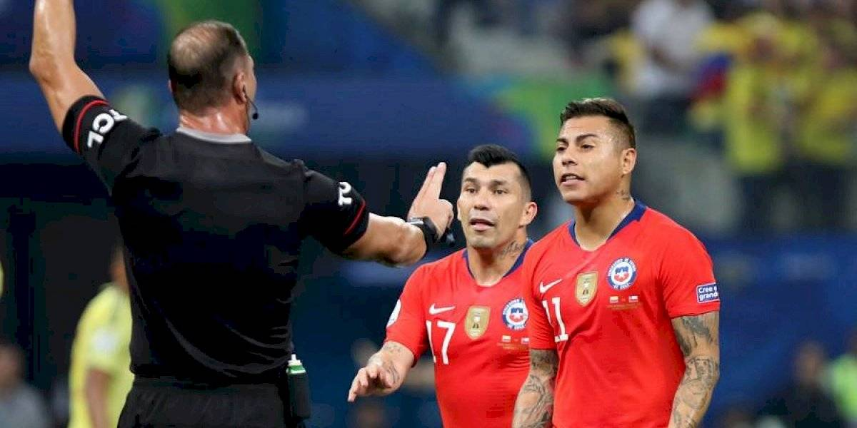 El VAR vuelve a fallar contra Chile y anuló el gol de Arturo Vidal ante Colombia en Copa América