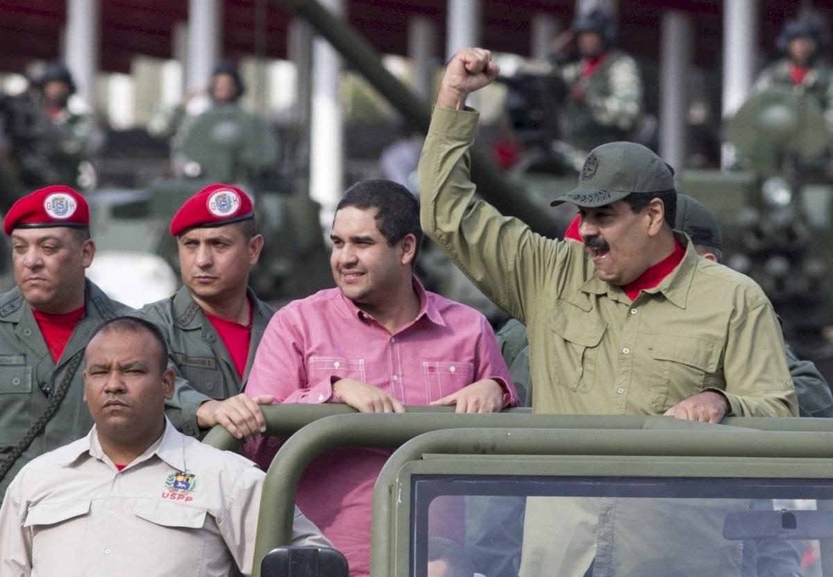 Nicolás Maduro y su hijo, Nicolás Maduro Guerra