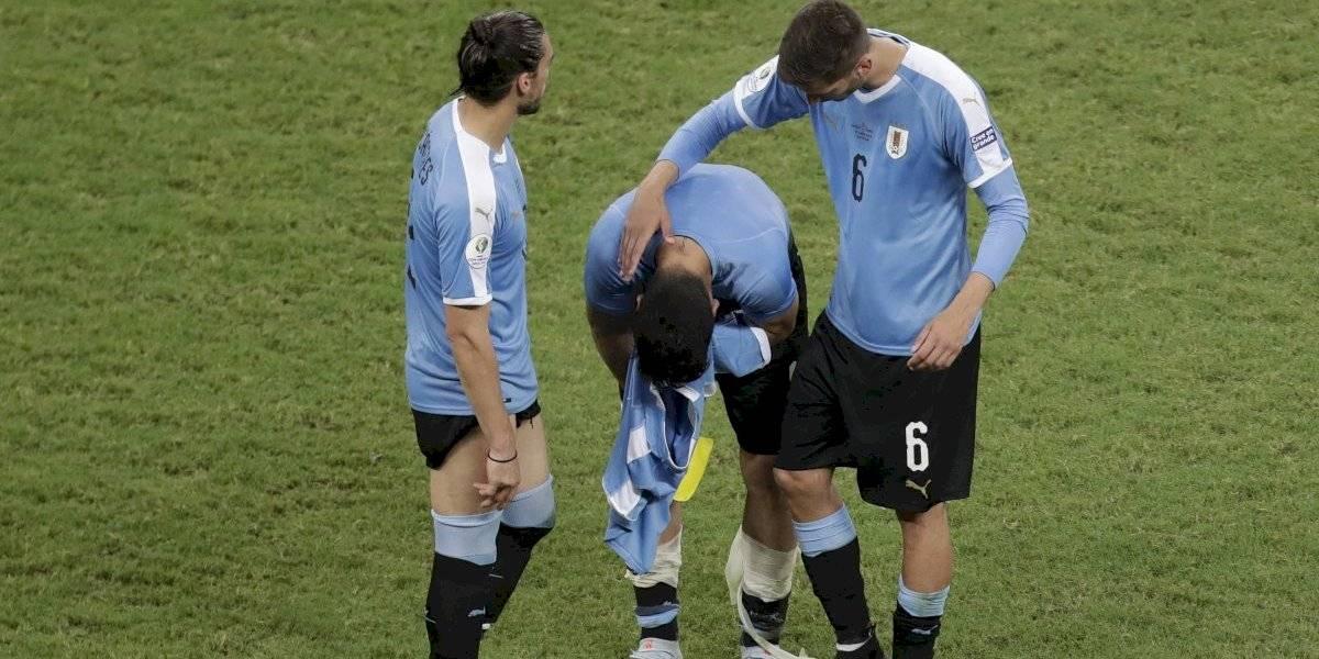 VIDEO: La devastadora reacción de Luis Suárez tras fallar penalti