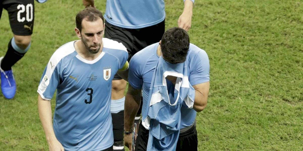 """La desazón de Diego Godín en la despedida de Uruguay en Copa América: """"Quedamos eliminados injustamente"""""""