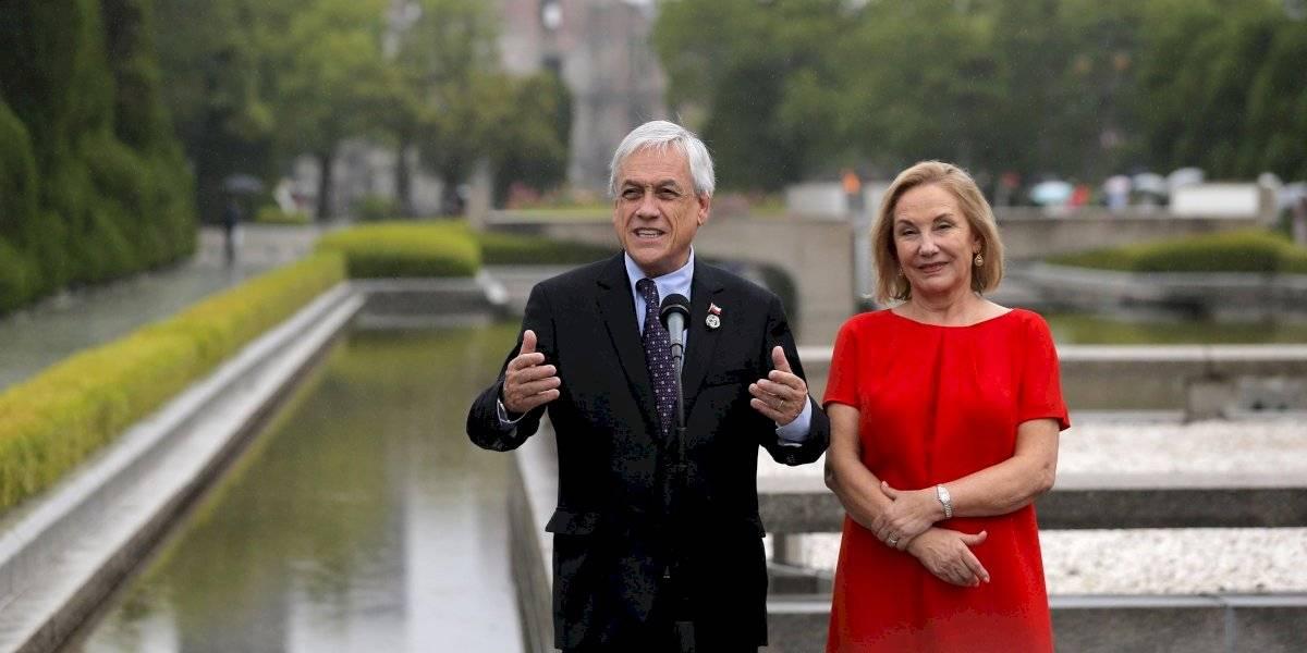Piñera cierra su gira en Hiroshima con mensaje contra las armas nucleares