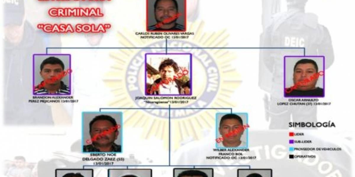 Condenan a 11 integrantes de banda de saqueadores de viviendas