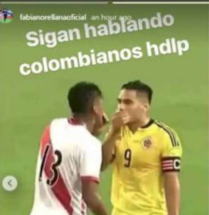 Historia del Instagram de Fabián Orellana Instagram