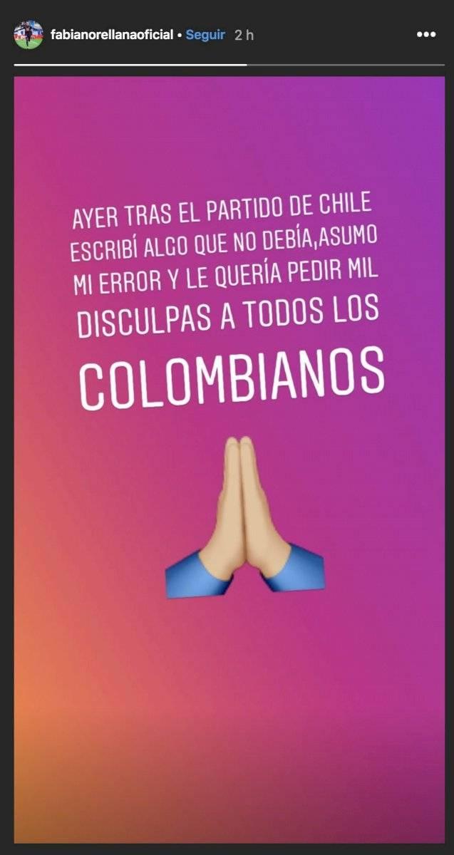 Disculpas de Orellana a Colombia