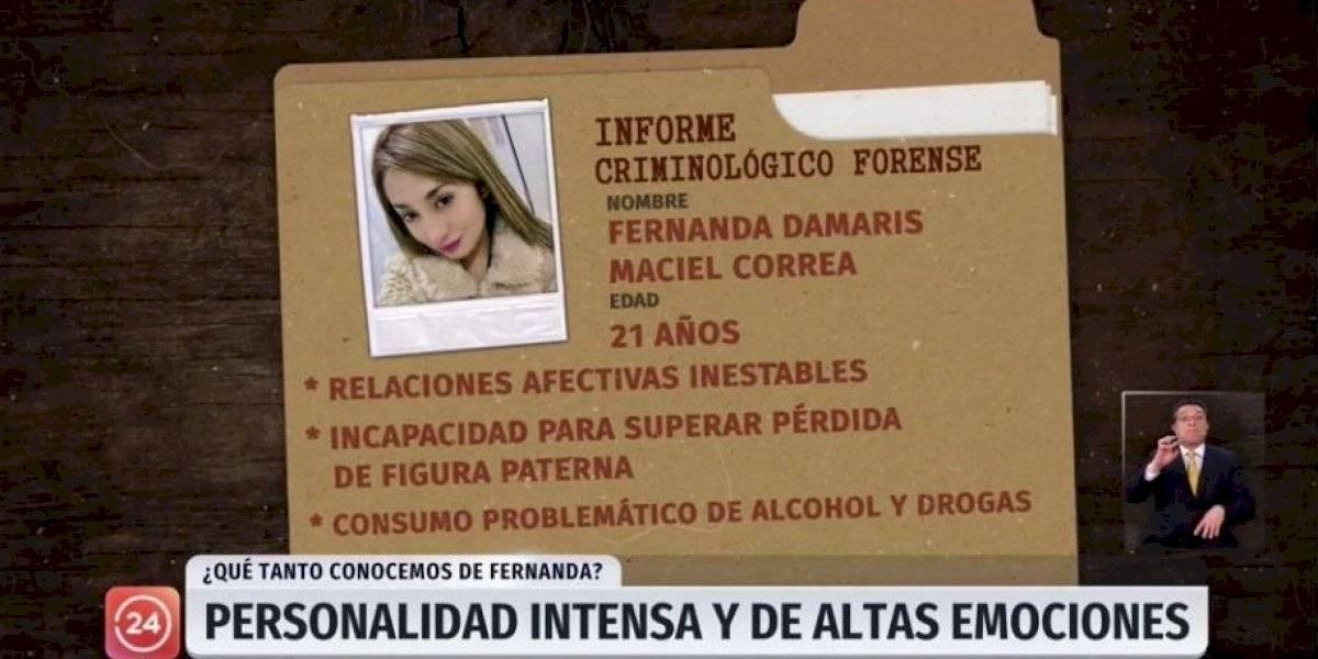 CNTV formula cargos contra TVN por reportaje de 24 horas sobre Fernanda Maciel