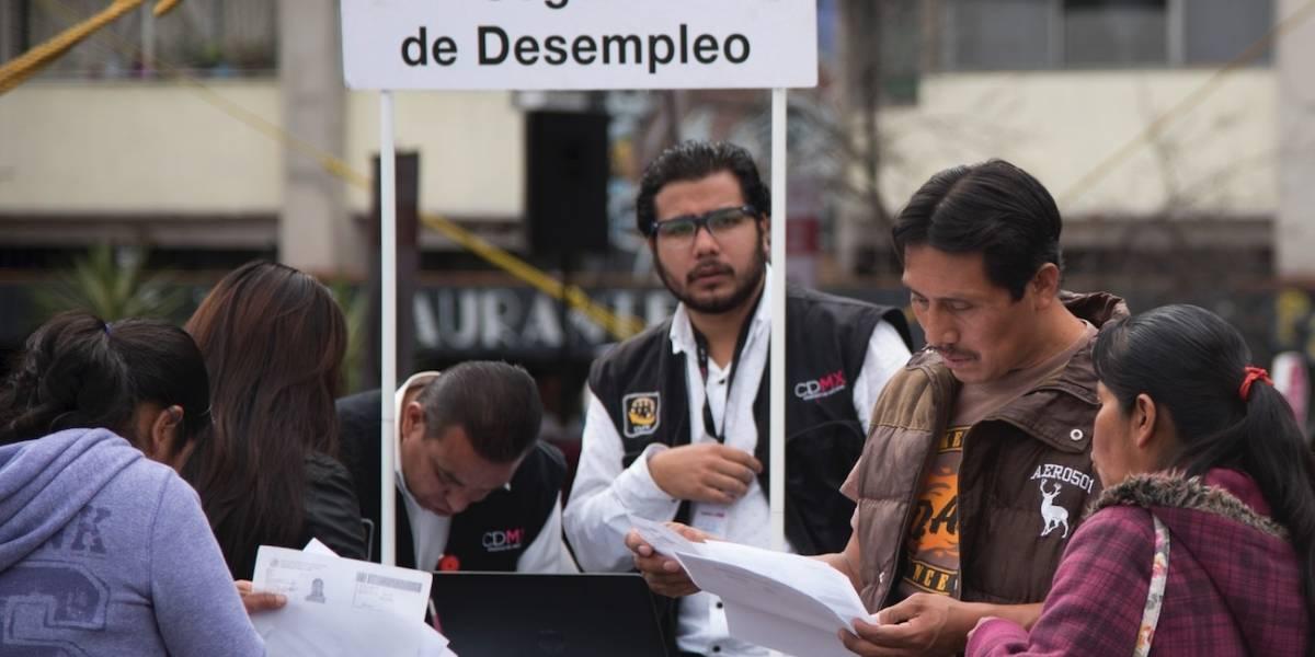 Crece 32% población desempleada en la CDMX