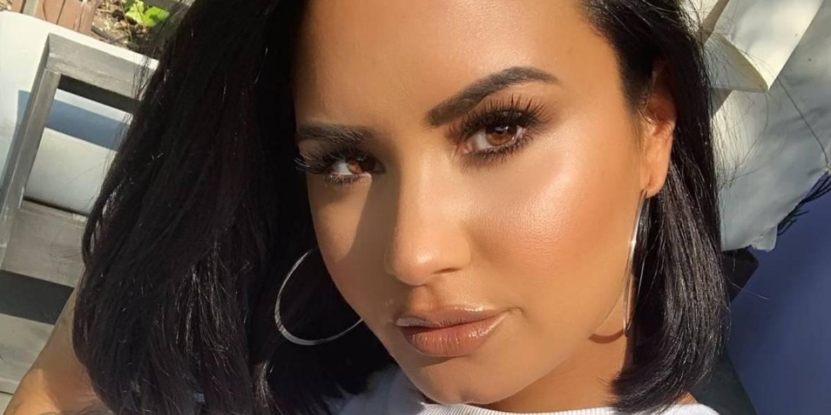 Conmovedor: Demi Lovato dedica su nuevo tatuaje a la persona más importante en su vida
