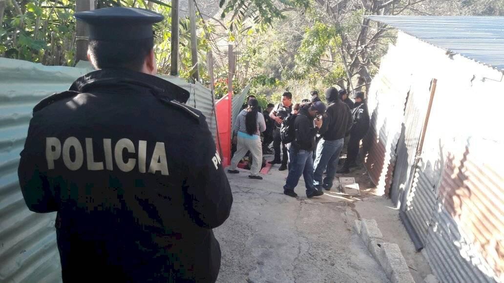 """Desarticulan a la banda """"Casa sola"""". Foto: PNC"""