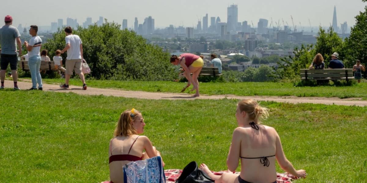 Reino Unido registra su día más caluroso con temperaturas de 33 grados