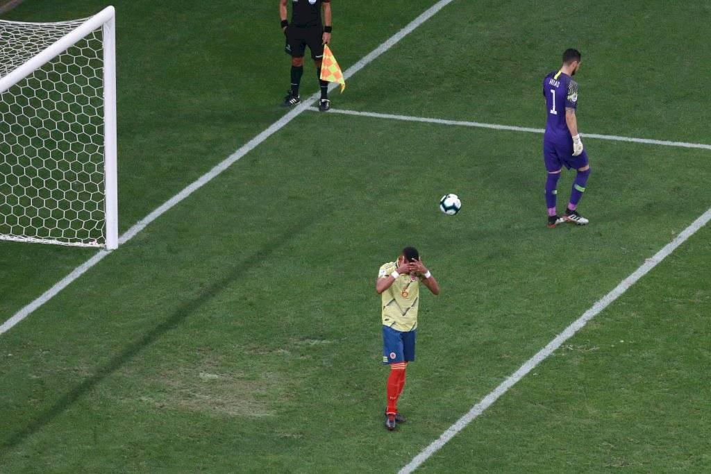 Cuadrado contó por qué Tesillo terminó pateando el último penal contra Chile