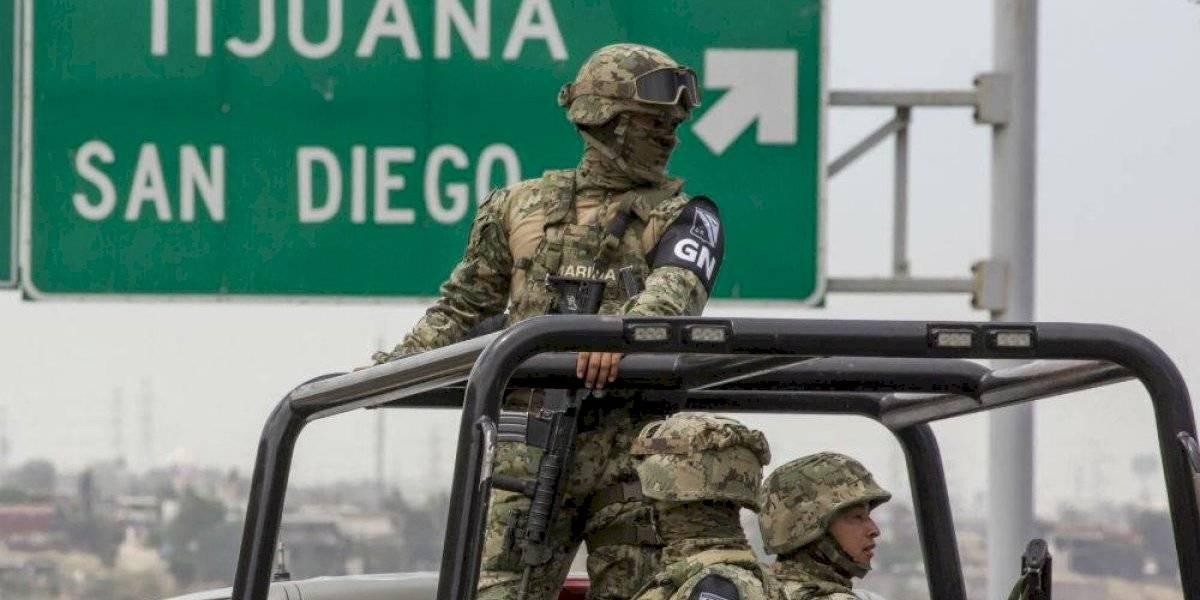 ¿Cuál es la organización y estructura de la Guardia Nacional?