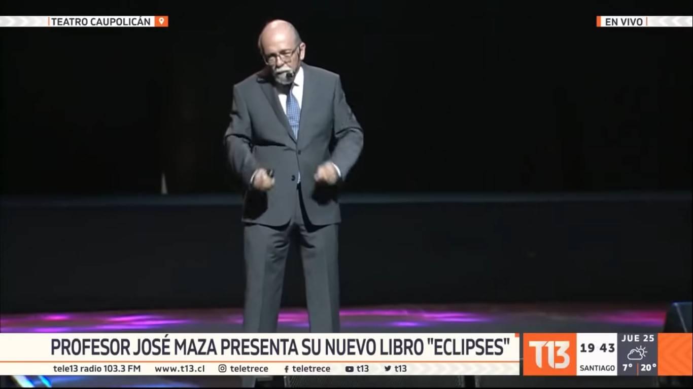 """Profesor José Maza sera el """"telonero oficial"""" del Eclipse solar en La Serena"""