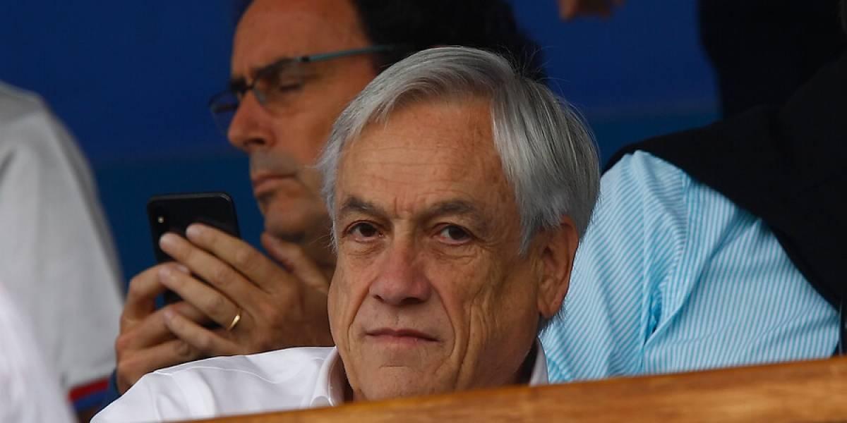 ¡Cuánta emoción Presidente! Sebastián Piñera ni se inmutó ante la clasificación de Chile en Copa América