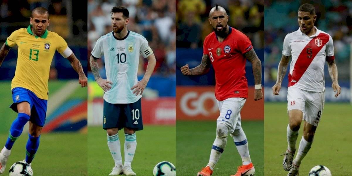 ¡Puro Clásico! Quedan definidas las semifinales de la Copa América
