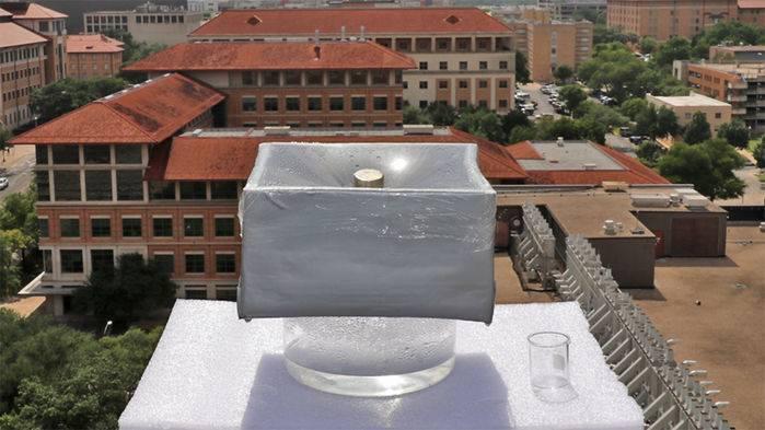 Energía solar agua