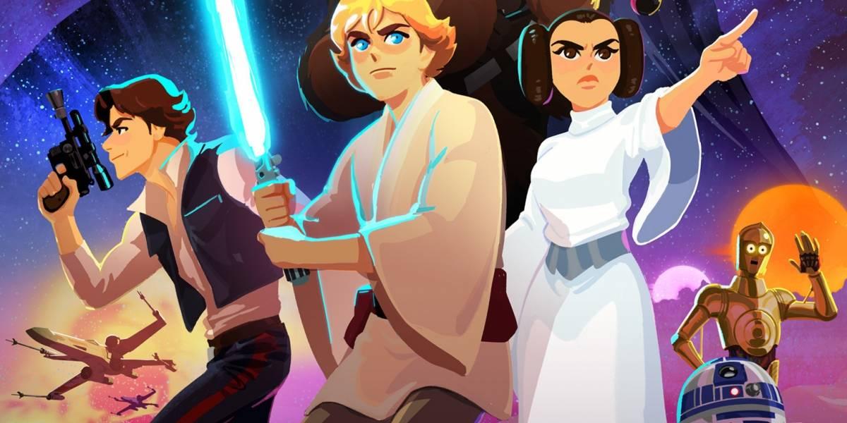 Disney lanza cortos animados de Star Wars y son hermosos