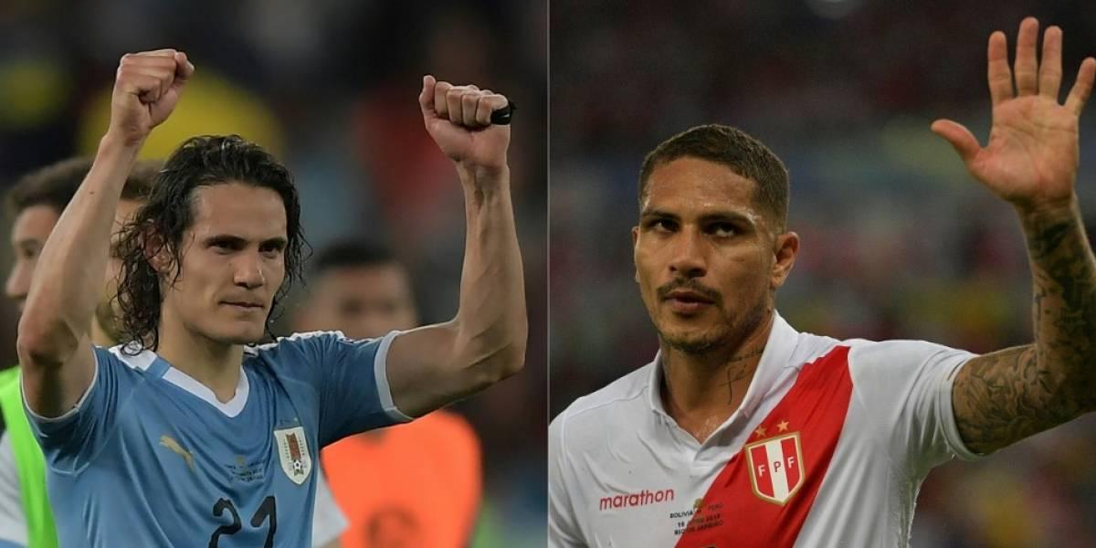 Uruguay vs Perú se pelearán el último puesto para semifinales