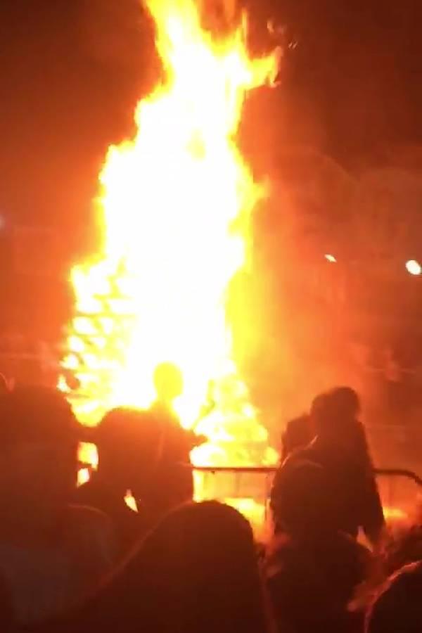 fogueira incêndio osasco