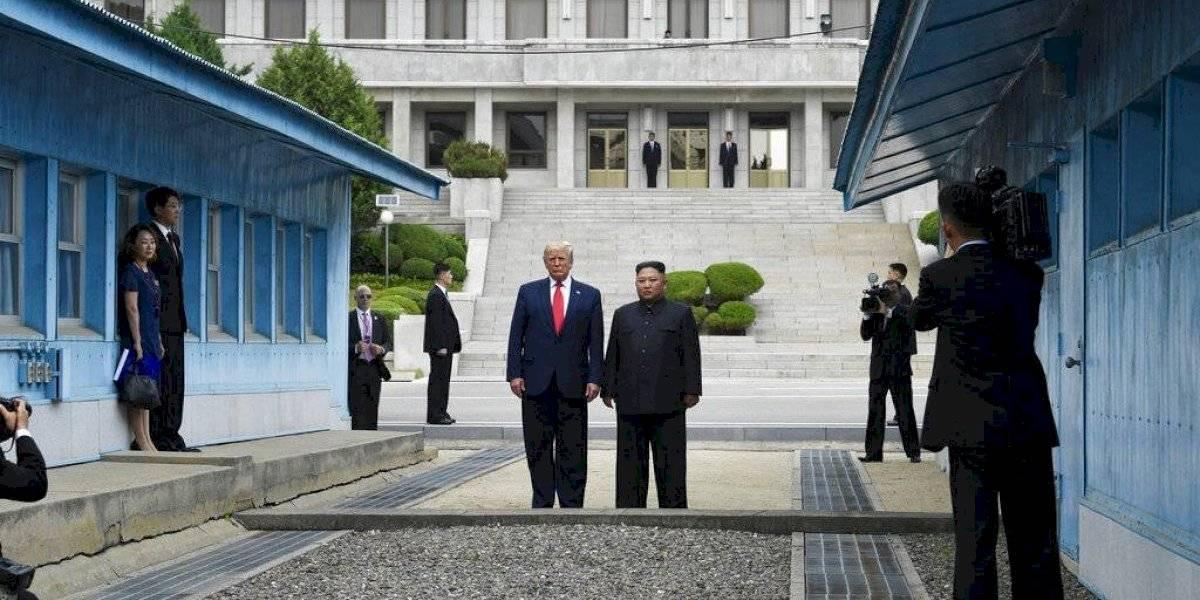 Trump y Kim Jong Un se reúnen en la frontera entre las dos Coreas